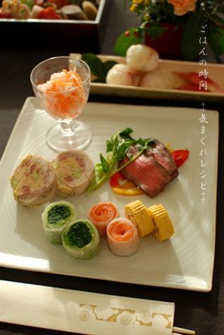 2012年 おせち料理 : ごはんの時間 ++気まぐれレシピ++