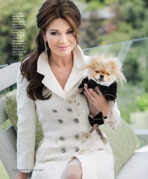 Lisa Vanderpump in genlux magazine