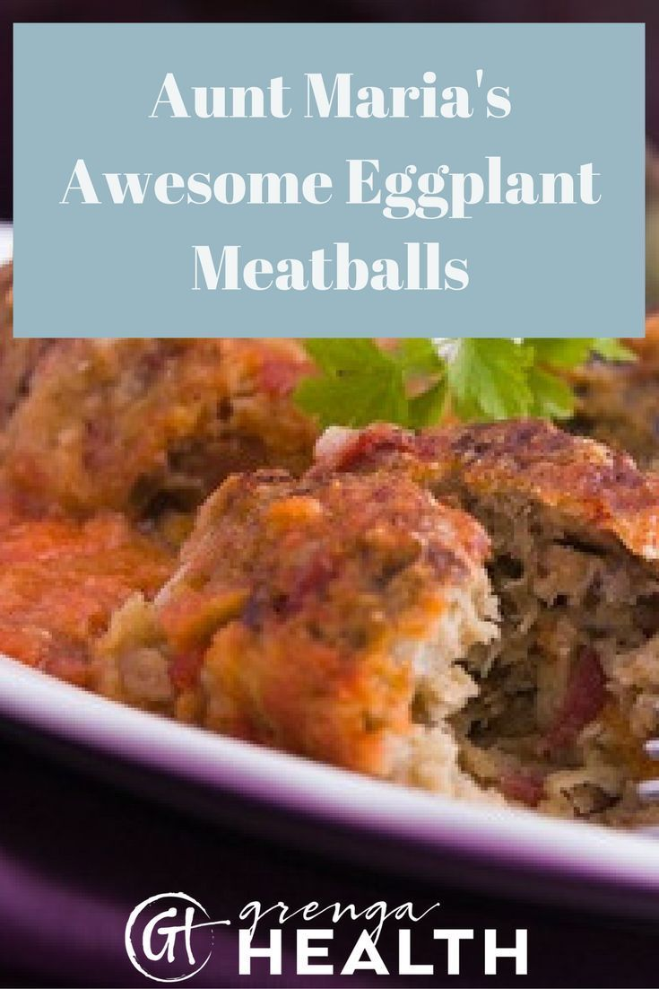 Today, on the blog I'm sharing one of my favorite family recipes for eggplant meatballs. Get my secret recipe by clicking here! via /grengahealth/