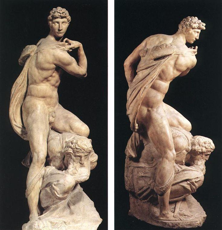 1534 - The Genius of Victory - Michelangelo