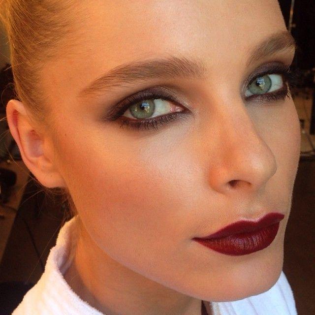 Jules Mordovets / Hung Vanngo (Makeup) #dark #lips