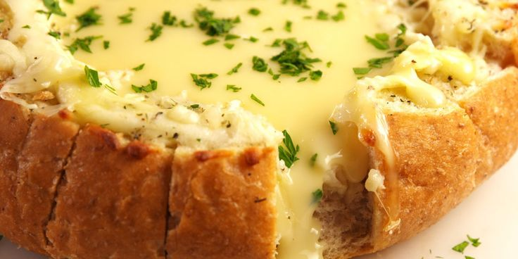 The ULTIMATE cheesy bread.