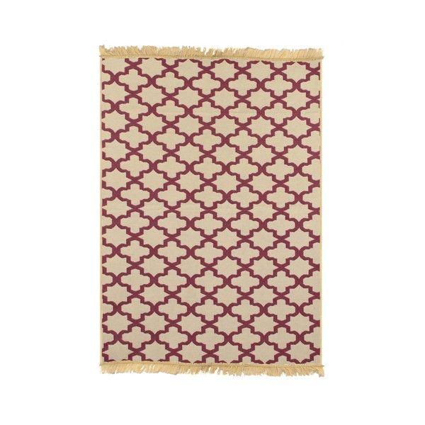 Červený koberec Ya Rugs Claret, 120x180cm