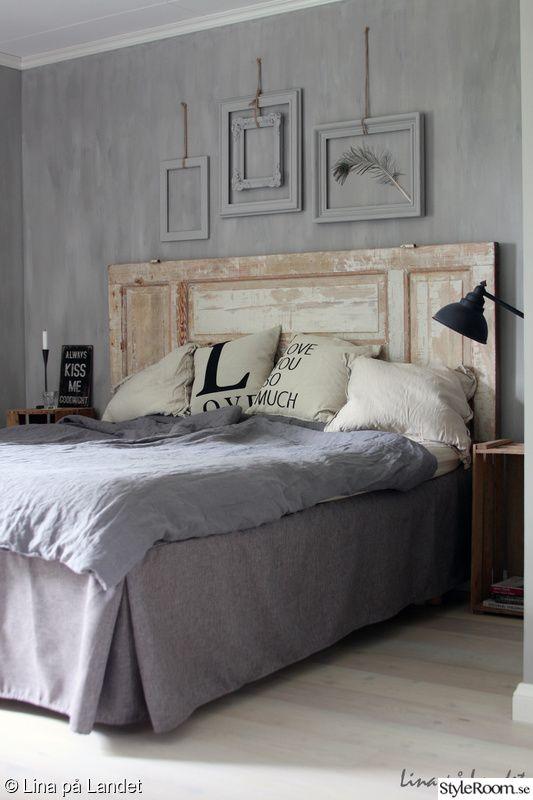 sänggavel,sovrum,säng,kalklitir,sänggavel dörr