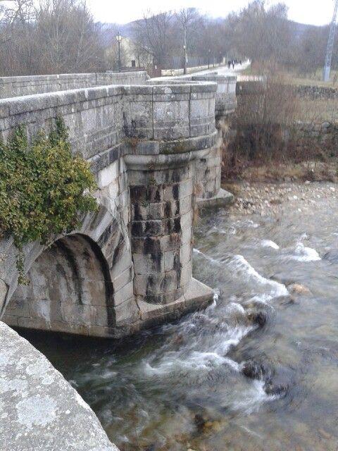 Puente del Perdón. Rascafría. Madrid.