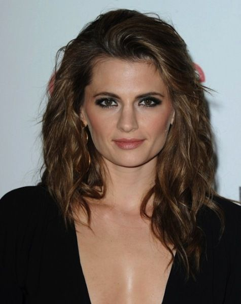 Stana Katic Is Queen of Her Castle (5 of 10) | She studied biology and international law at the University of Toronto.