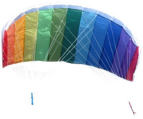 62-034-Rainbow-Parafoil-Kite-with-Handle-amp-String-Summer-Kite-special-easy-to-fly