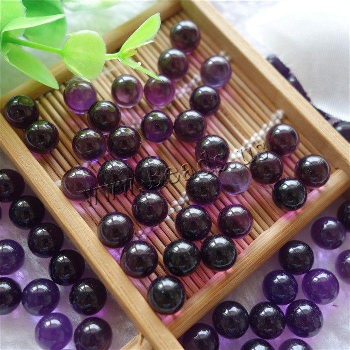 Synthetic Quartz Beads, Round