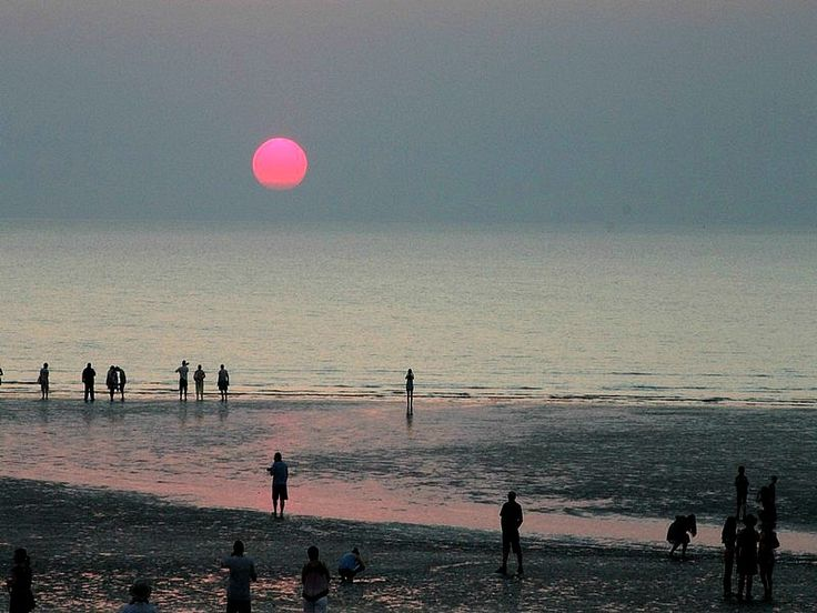Pink Sunset at Mindel Beach, Darwin, Australia