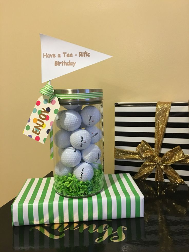 Birthday gift for a Golfer