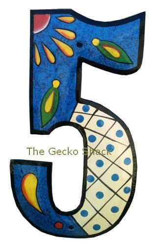 The Gecko Shack - House Number Blue