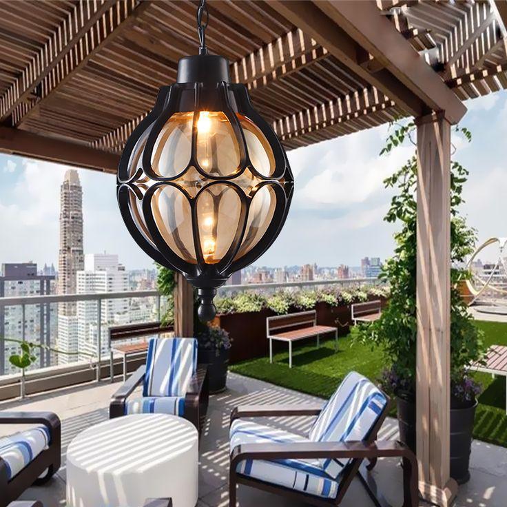 Araña de cristal de bolas de uva Europea Vintage balcón al aire libre a prueba de agua Lámpara de aluminio E27 bombilla en Luces colgantes de Luces e Iluminación en AliExpress.com | Alibaba Group
