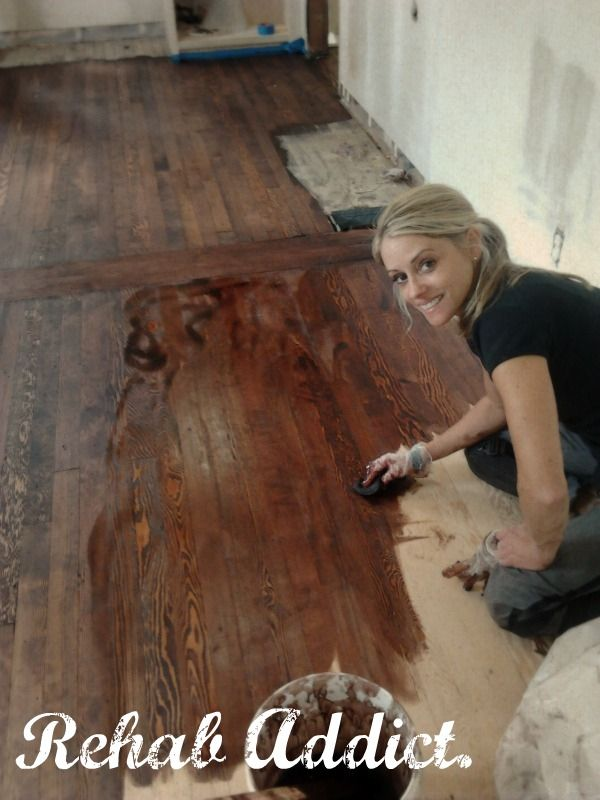 Rehab Addict. This girl is seriously awesome and has my utmost respect.