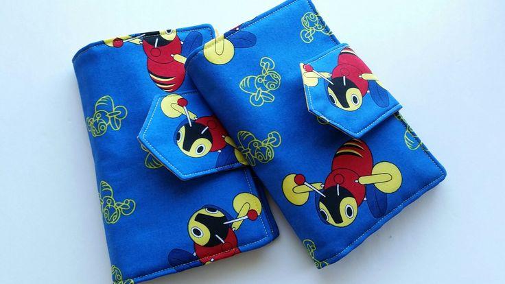 "Crayon Bag ""Buzzy Bee"" too cute♡ http://sewmama.felt.co.nz/"
