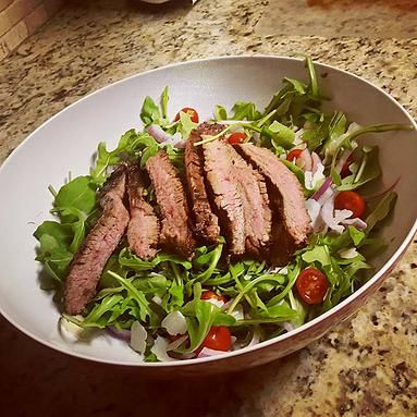Fit Life Bound | Flank Steak Salad - 21 Day Fix Approved