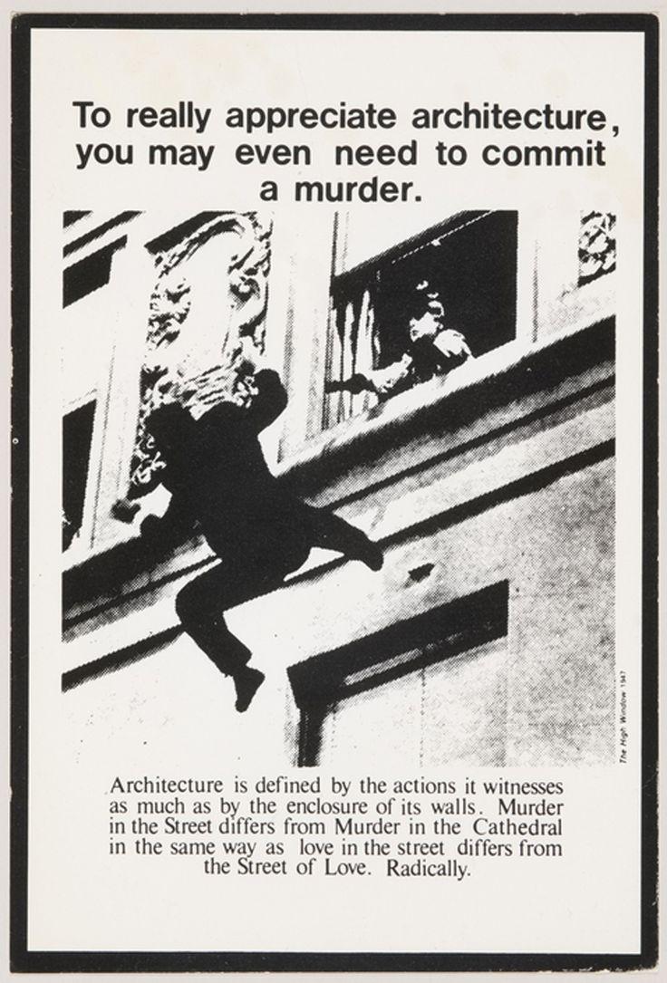 Advertisments for Architecture Bernard Tschumi ikilledjackjohnson