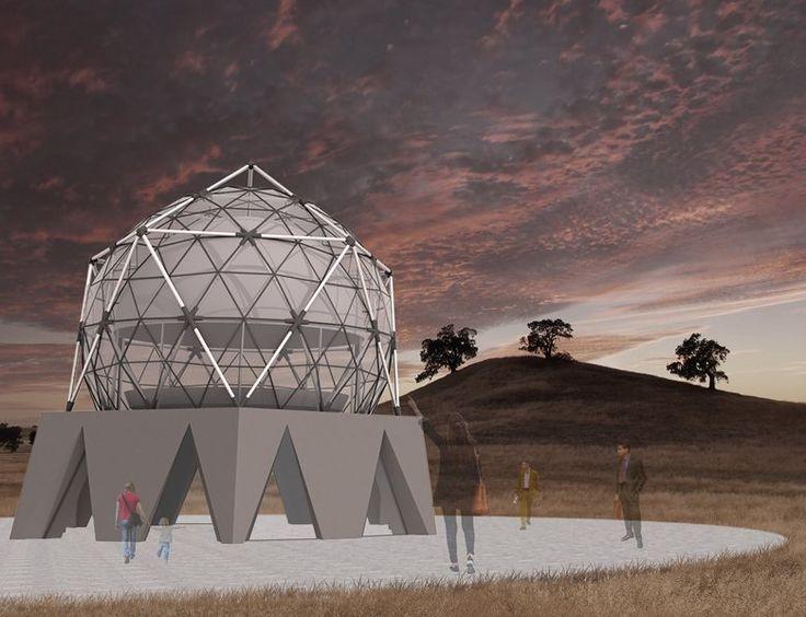 ICOSAHEDRON - Progetto di un Planetario , Puglia, 2016 - Nicola Lamanna