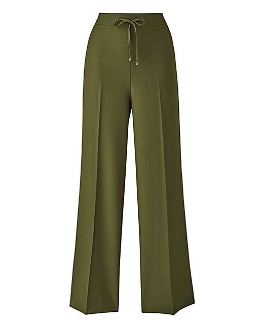 Wide Leg Fashion Trousers Regular | J D Williams