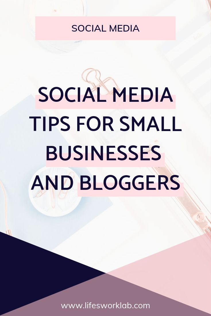 Social Media Tips For Small Businesses, Entrepreneurs and Bloggers #socialmedia …