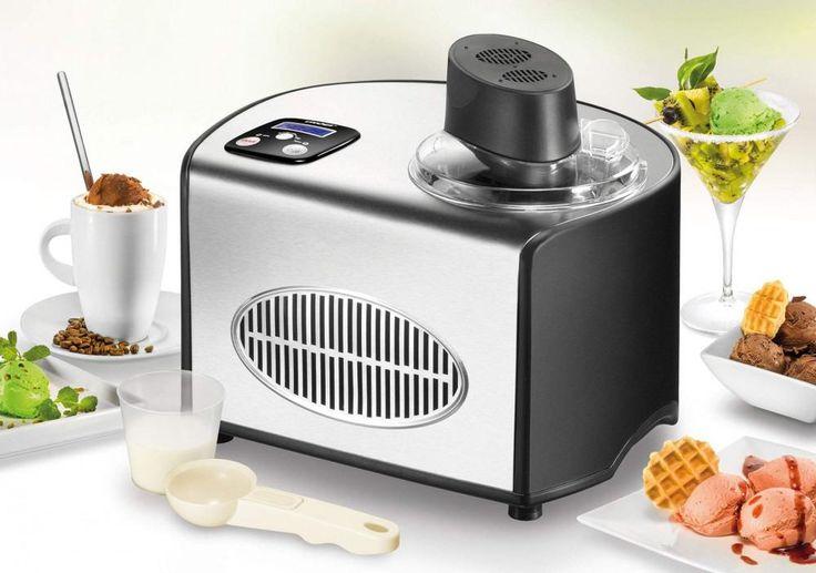 Eis einfach selbst machen! In der der Unold #Eismaschine de Luxe können bis zu 1,5 Liter #Eiscreme schnell und einfach zubereitet werden. Mit Rezepten!