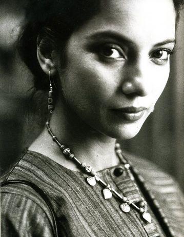 young shabana azmi