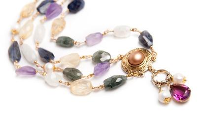 Vintage Colored Necklace
