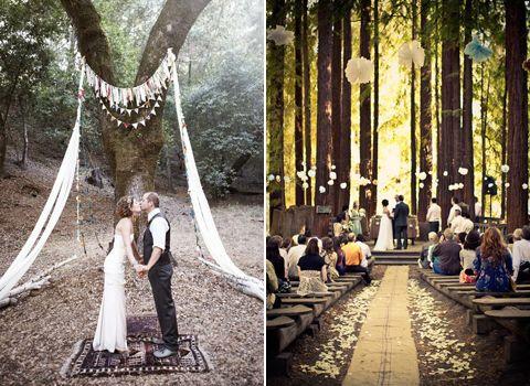 diy outdoor wedding alter   bijoux guide #16: altar decor   b ...