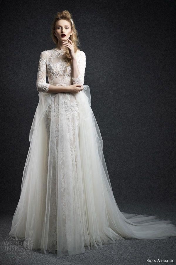 The Hottest 2015 Wedding Dress Trends — Part 1 | Wedding Inspirasi