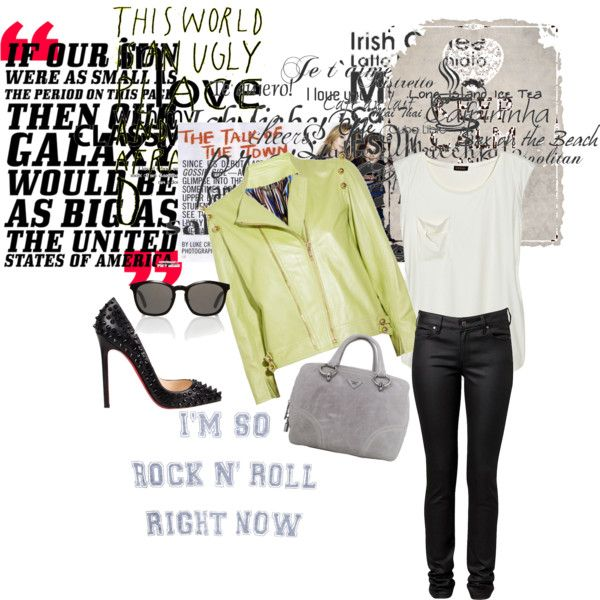 rock n roll by georgina2907 on Polyvore