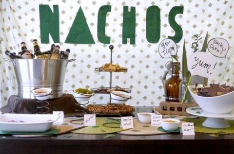 Nacho party bar