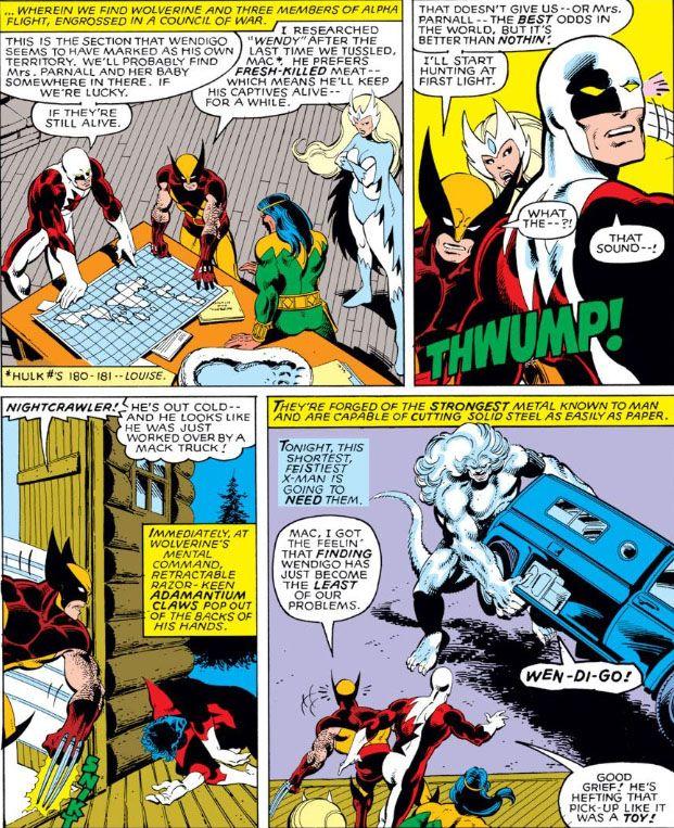 The Peerless Power of Comics!: The Rage of the Wendigo!