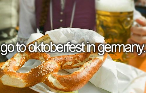 Spent time in Germany before.. But not during Oktoberfest! Germans have more fun ;)