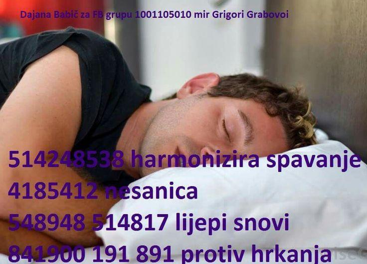 Grabovoi sleeping trouble