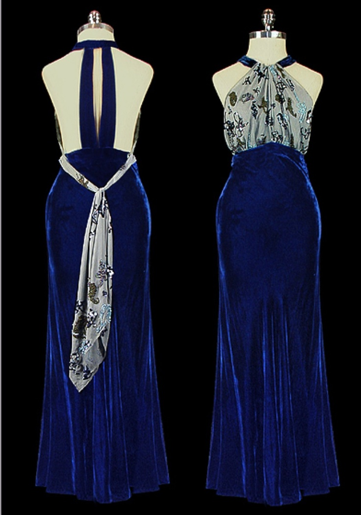 1940 s vintage evening gown vintage posts