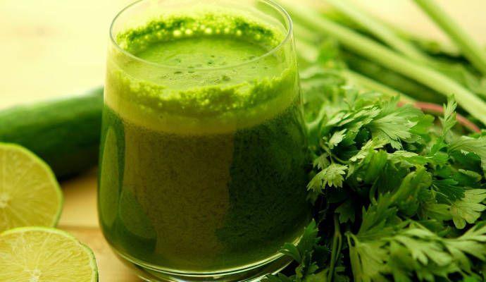 Зеленые коктейли: польза+рецепты