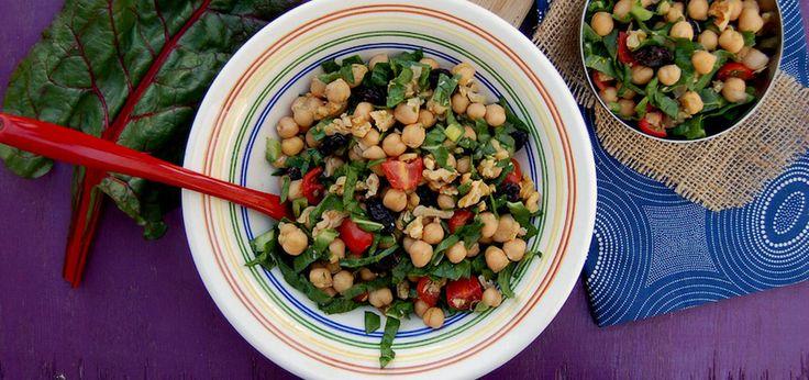 Lemony Vegan Chickpea Salad