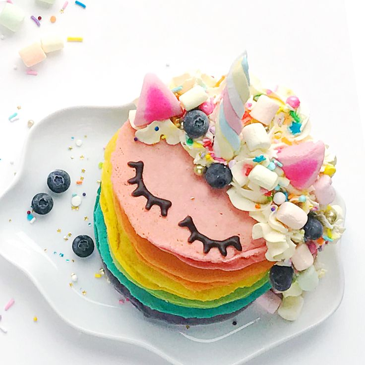 Have a magical start to your St. Patrick's Day with this dreamy and delicious stack of unicorn rainbow pancakes (it also works well for a special dessert)! Pancake mix makes this recipe super simple to create, and kids will love using marshmallows and whipped cream to make their food extra fun. Unicorn Rainbow Pancakes – …