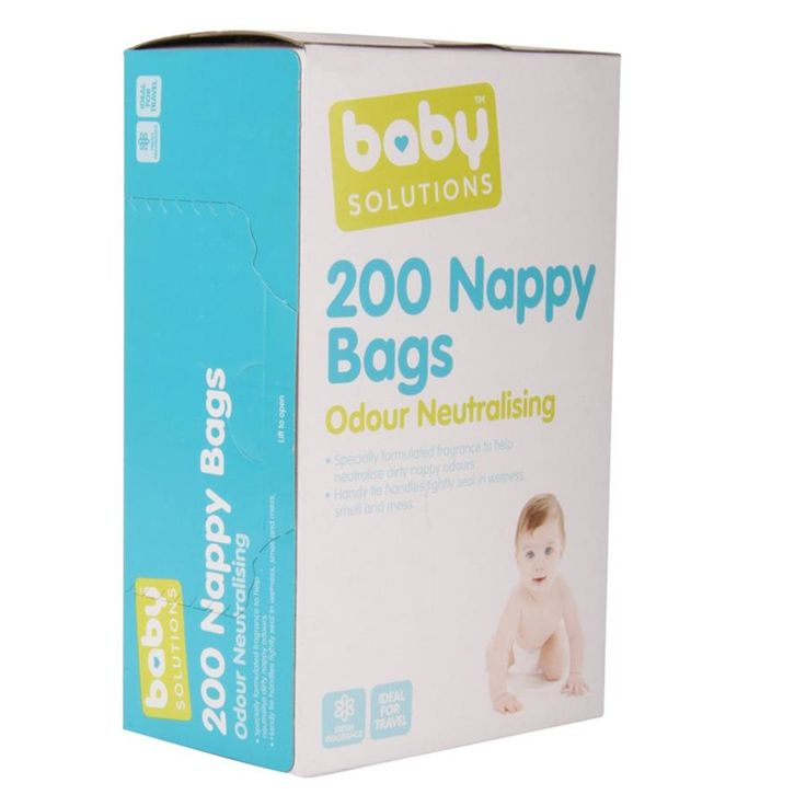 Nappy Bags - Pack of 200 | Kmart