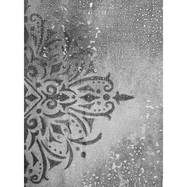 Print black and white, contemporary art,ornament painting, rustic home... ($8.04) ❤ liked on Polyvore featuring home, home decor, wall art, black white home decor, black and white home accessories, black white painting, black and white wall art and black white wall art