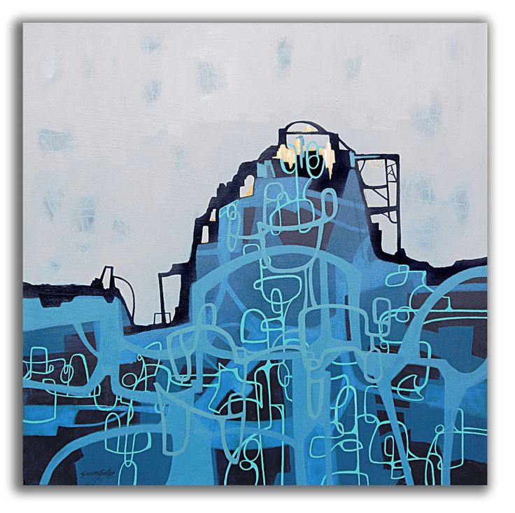 Invisible Cities series 2013 - Diomira - Gwen Gunter Art
