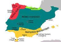(33) 496 – Incursiones visigodas desde la Galia a Hispania, Que era el nombre dado por los fenicios a la península ibérica, posteriormente utilizado por los romanos, y parte de la nomenclatura oficial de las tres provincias romanas que crearon ahí.