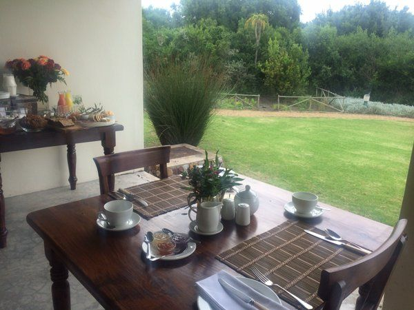Breakfast overlooking the lovely garden at Dune Ridge Country House - guests enjoy a wonderful healthy spread #StFrancisBay #EasternCape http://www.duneridgestfrancis.co.za