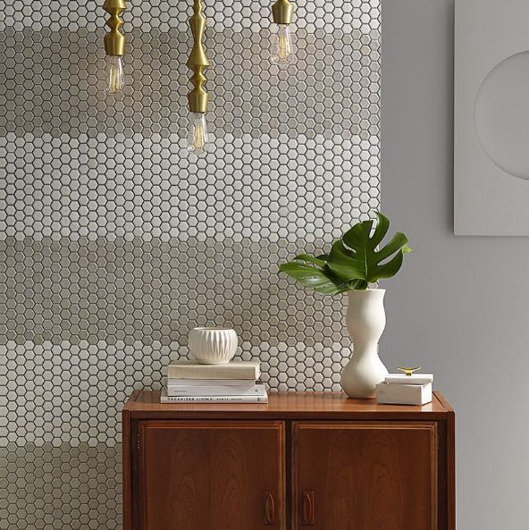 43 best Shapes | Hexagon Tile images on Pinterest | Glass tiles ...