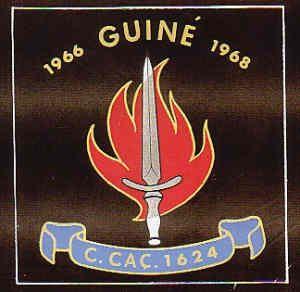 Companhia de Caçadores 1624 Guiné 1966/1968