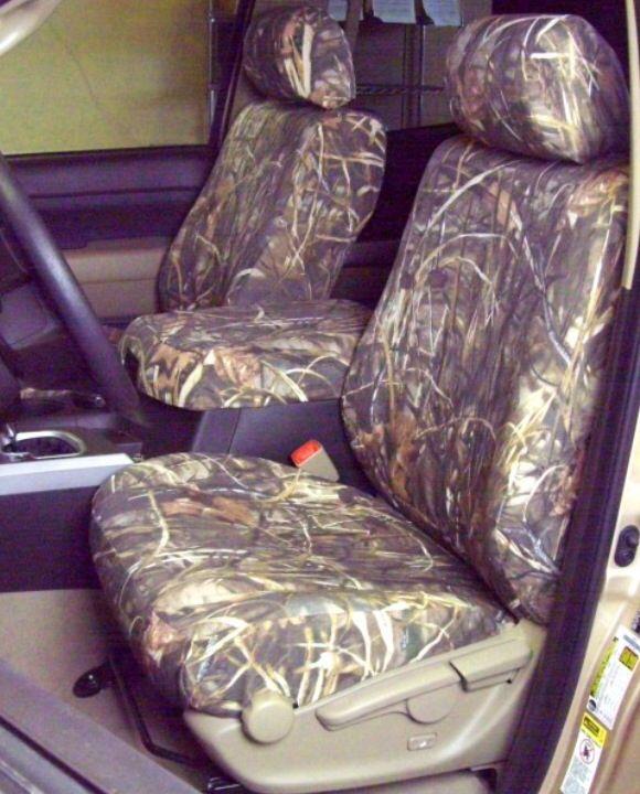 Toyota Tacoma camouflage seat covers! Camo!