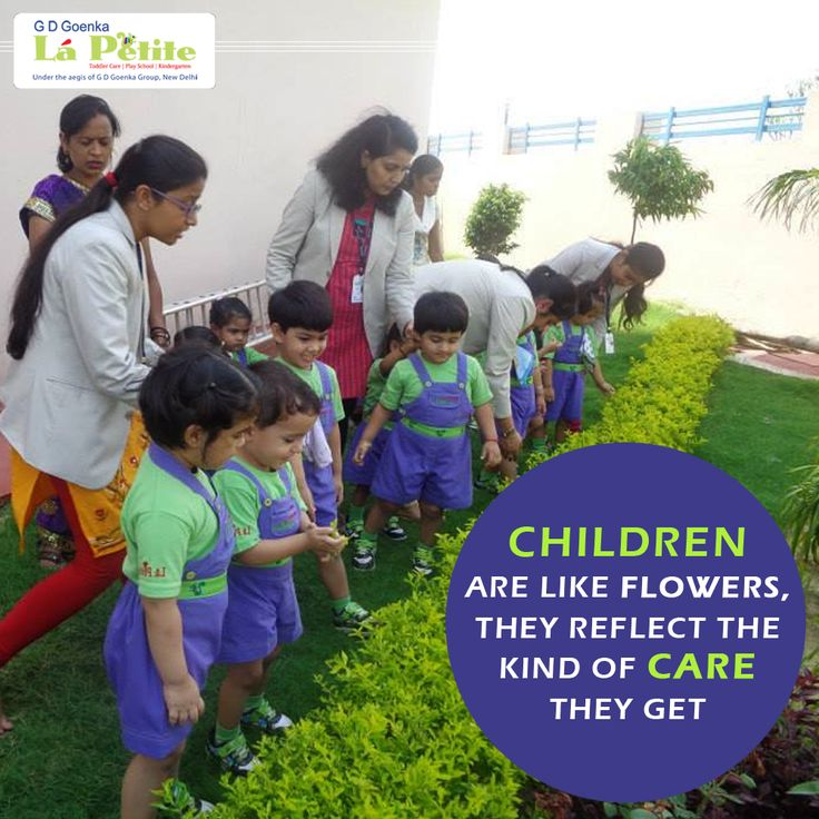 If you want Children/Flowers to brighten up your Home/Garden, nourish them with proper care. #ParentingTips #PreSchool