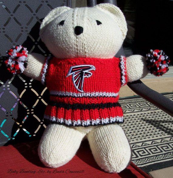 Bear+Atlanta+Falcons+Superbowl+Cheerleader+Bear+by+babybuntingetc