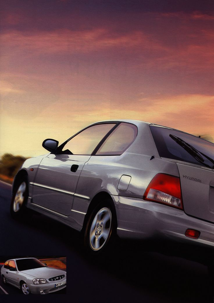 https://flic.kr/p/F7tmdB | Hyundai Accent; 2000_2 | car brochure by worldtravellib World Travel library