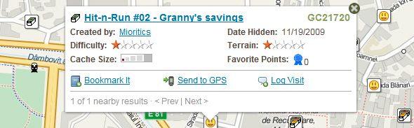 Hit-n-Run #02 - Granny's savings