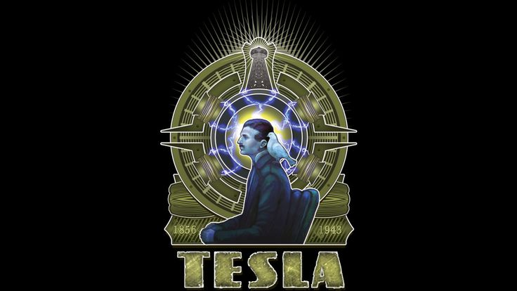 Nikola Tesla is a T Shirt designed by kaarnivale to illustrate your life and is available at Design By Humans